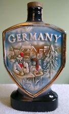 "10.25"" Vintage Jim Beam Germany Collectors Decanter Bottle"