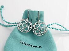 Tiffany & Co Picasso Silver Zellige Dangle Dangling Earrings!
