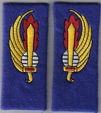 [Militaria] Coppia mostrine Paracadutisti APAR