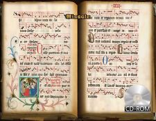 15th-century Missal, with Notes and Initials 1499 AD Manuscripts _ Missale