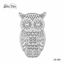 Cartoon Owl Design Cutting Dies for DIY Scrapbooking Decor Card Making Supplies