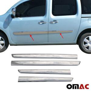 Für Mercedes Citan 2012-2021 Seitenleiste Türleisten Seitliche Edelstahl Chrom