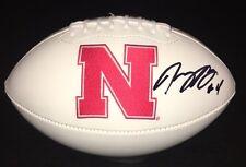 Nebraska Cornhuskers TOMMY ARMSTRONG JR Signed Autographed Logo Football COA!