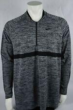 Nike Golf Dri Fit 1/2 Zip Long Sleeve Top Sz XL 100 Authentic 892221 012