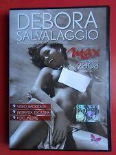 dvd debora salvalaggio calendario max 2008 backstage video foto interviste photo