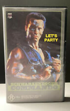 Commando [VHS] CBS Fox Video Big Box 1985 Arnold Schwarzenegger Action Like New!
