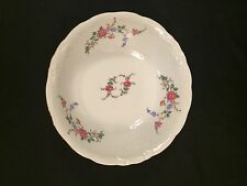 Wawel China Rose Garden 9 Inch Round Serving Bowl Made In Poland