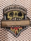 RARE Collectable Axis Allies & Zombies Army Special Forces War Games Patch