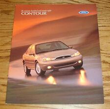 Original 1998 Ford Contour Sales Brochure 98 LX SE 8/97