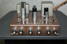 Rare 1955 Newcomb model D-12 Tube Mono Amplifier Recapped and working great!