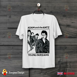 Adam And The Ants – Decca Records Young Parisians Cool Unisex T Shirt B359