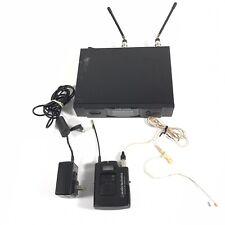 Audio Technica ATW R3100bD T310b Wireless Microphone body Pack Ear headset mic