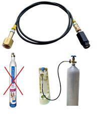 1,5m Sodastream Direktanschluss - große Co2 Flasche Schlauch Adapter Soda Stream