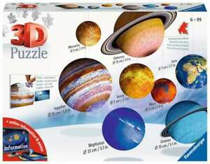 Ravensburger 116683 Sonnensystem 3D Puzzle 522 Teile 10-99 Jahre