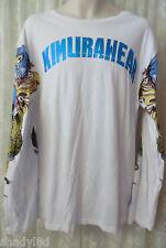 KIMURAWEAR TEE SHIRT Long Sleeve MMA Sport Gear Fight Box 2XL Tattoo Sleeve