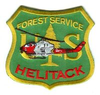 United States Forest Service USFS Helitack Forest Wildfire Wildland Patch Washin