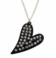 Necklaces For Women Heart Pendant Heart Necklace Black Heart 113884