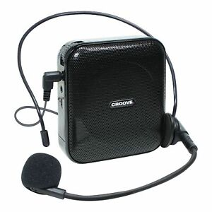 Voice Amplifier Portable Rechargeable Microphone Headset & Belt Clip