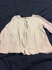 GAP GIRLS LILAC LONG SLEEVED TOP - SIZE 5 YEARS