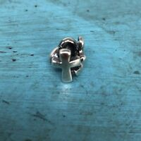Authentic Trollbeads Sterling Silver Faith Hope & Charity Bead Charm TAGBE10052