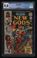 New Gods #9 CGC 9.0 White Pgs DC Comics 6-7/1972 1st Forager Jack Kirby