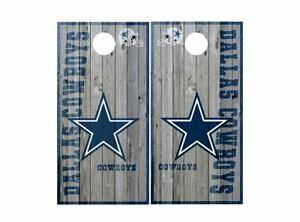 Dallas Cowboys Cornhole Board Wraps Decals Stickers Football NFL