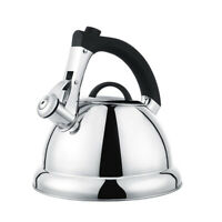 Large Capacity 2.75QT Stainless Steel Whisting Tea Kettle Stovetop Whistle