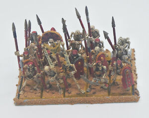 Warhammer - Tomb King Infantry - Painted