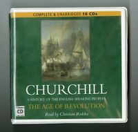 Churchill: The Age of Revolution -  Unabridged Audiobook - 10CDs