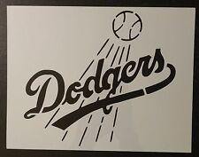 """LA Dodgers L.A. Los Angeles 8.5"""" x 11"""" Custom Stencil FAST FREE SHIPPING"""