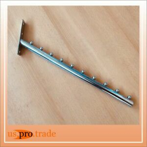 Schrägarm, Schräghänger, Kleiderbügelträger für feste Wand (LB1001-1)