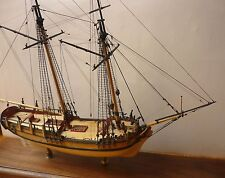 Maquette Bateau: « SULTANA » Colonial Schooner Boston 1767 de Model Shipways