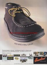 Hawkins England Turn-Ups Shoes 1999 Magazine Advert #1715