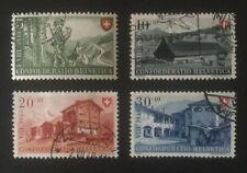 Schweiz Pro Patria 1948 Mi-Nr. 508/11 gestempelt