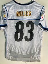 5d8fd5953 Reebok Women s NFL Jersey Pittsburgh Steelers Heath Miller White Super Bowl  ...