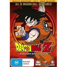 Dragon Ball Z  Complete 15 Movie Collection Remastered Uncut New DVD Region  4