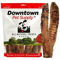"Premium 6"" and 12"" Beef Trachea Strip Dog Chews, Great Source of Glucosamine"
