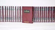 The Zohar Kabbalah 2003 Unabridged English Translation 23 Vol Complete Set