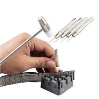 Eg _6pcs Uhren Reparatur Ehering Glieder Entferner Werkzeugsatz Hammer Punch Pin