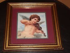 Home Interiors & Gifts Angel w/ Violin Picture Frame SHIPS FREE!!
