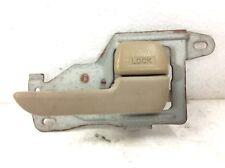 98-01 Integra Handle Right Door Inside Interior Opener Locking Lever Beige OEM