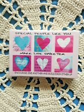 """""""SPECIAL PEOPLE LIKE YOU  SWEETER"""" Pass it Along Cards  NEW in pkg. 25 pcs 3x2"""""""