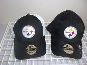 2 PITTSBURGH STEELERS HATS-NEW ERA-BRAND NEW-L/XL