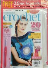 Inside Crochet UK No 90 20 Gorgeous Patterns Bright Beautiful FREE SHIPPING sb