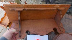 Oak Wall Shelf / Clock Shelf  (RP)