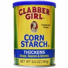 Clabber Girl 100 Pure Corn Starch - 6.5 Oz