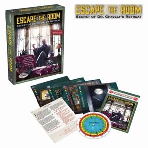 ThinkFun - Escape Room: Dr Gravelys Retreat