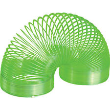 *NEW IN BOX* THE POOF METAL SLINKY - WALKING SPRING TOY - Green