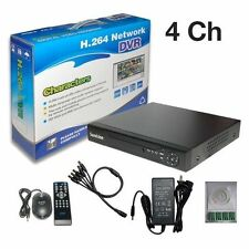 Sunvision CCTV 4Ch Surveillance Full D1 H.264 Cloud Based DVR with no HDD