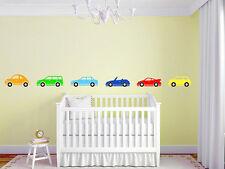 "Boys Car Border Nursery Room Vinyl Wall Decal Graphics Kids Bedroom Home 76""x5"""